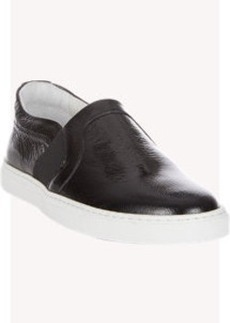 Lanvin Patent Slip-On Sneakers
