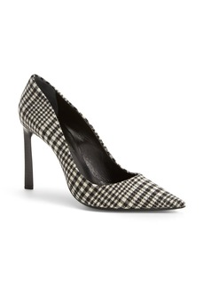 Lanvin Plaid Wool Pump (Women)