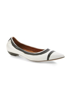 Lanvin Pointy Toe Flat (Women)