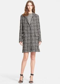 Lanvin Prince of Wales Tweed Coat