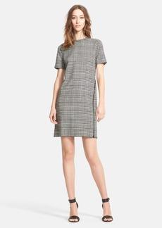 Lanvin Prince of Wales Tweed Shift Dress