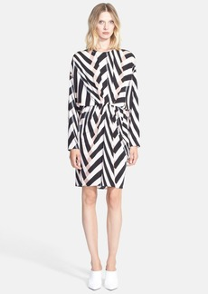 Lanvin Print Blouson Dress