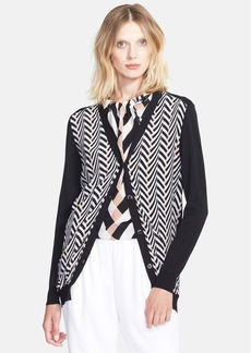 Lanvin Print Silk & Cotton Cardigan