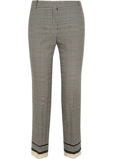Lanvin Printed cotton-blend skinny pants