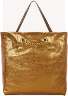 Lanvin Python-Stamped Carry Me Tote