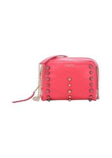 Lanvin raspberry leather 'Baby Sugar' mini studded shoulder bag