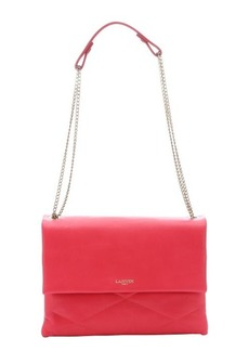 Lanvin raspberry leather 'Sugar' medium shoulder bag