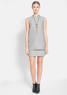 Lanvin Raw Edge Tunic Top