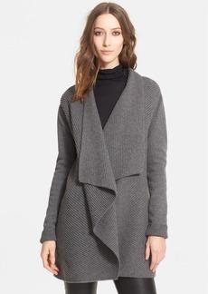Lanvin Rib Knit Cashmere Cardigan Jacket