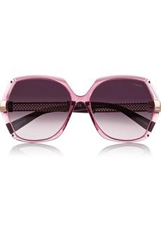 Lanvin Round-frame acetate sunglasses
