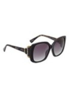 Lanvin Rounded-Square-Frame Sunglasses