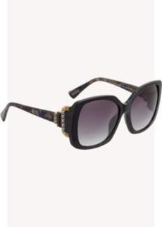 Lanvin Rounded-Square-Frame Sunglasses