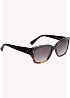 Lanvin Rounded Wayfarer Sunglasses