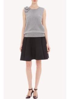 Lanvin Ruffled Sleevleess Sweater