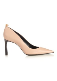 Lanvin Screw-detail leather pumps