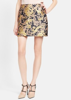 Lanvin Short Brocade Skirt