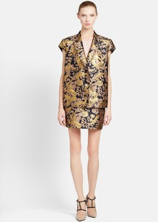 Lanvin Short Sleeve Brocade Jacket
