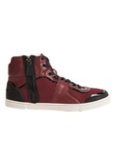 Lanvin Side-Zip High-Top Sneakers