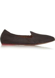 Lanvin Silk-jacquard slippers