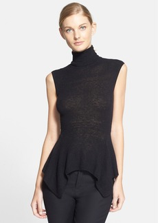 Lanvin Sleeveless Lightweight Turtleneck Sweater