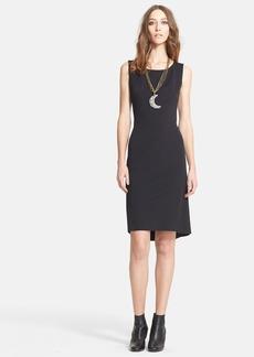 Lanvin Sleeveless Techno Jersey Dress