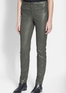 Lanvin Slim Faux Leather Pants