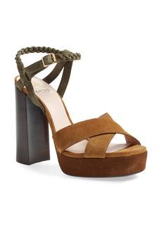 Lanvin Slingback Platform Sandal (Women)