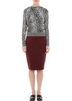 Lanvin Pinned-Shoulder Sweater