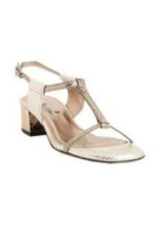 Lanvin Snakeskin T-strap Sandals