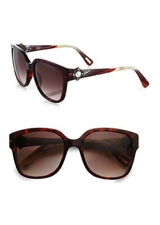 Lanvin Square Jeweled Sunglasses
