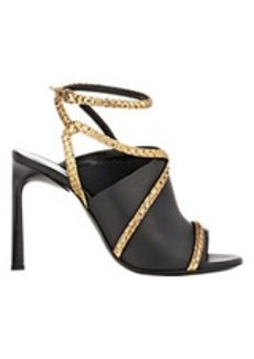 Lanvin Strappy Combo Sandals