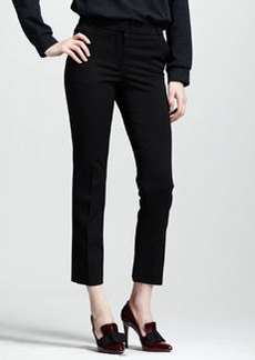 Lanvin Stretch-Gabardine Ankle Pants