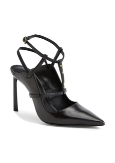 Lanvin Studded T-Strap Leather Pump (Women)