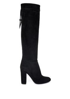 Lanvin Suede knee-length boots