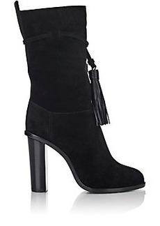 Lanvin Tassel-Detail Mid-Calf Boots