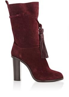 Lanvin Tassel-Tied Mid-Calf Boots