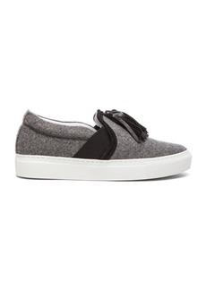 Lanvin Tassel Wool Sneakers