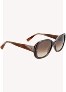 Lanvin Thick Butterfly Sunglasses