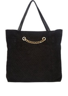 Lanvin Topstitched Carry Me Tote