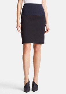Lanvin Two-Tone Pencil Skirt