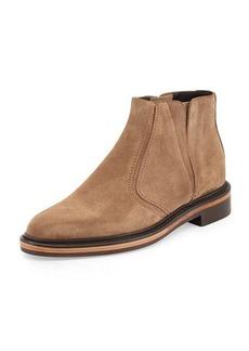 Lanvin Velvet Calfskin Ankle Boot