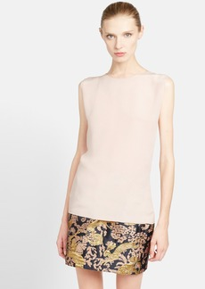Lanvin Washed Silk Crepe Shell