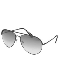 Lanvin Women's Black Aviator Sunglasses