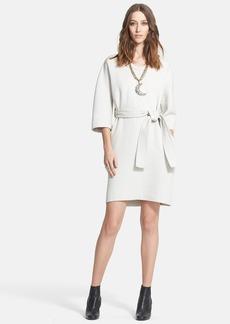 Lanvin Wool Gabardine Dress with Belt