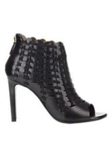Lanvin Woven Back-Zip Boots