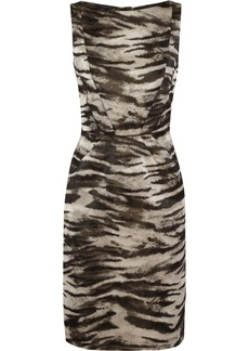 Lanvin Zebra-jacquard dress
