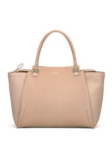 Trilogy Leather Tote Bag, Beige   Trilogy Leather Tote Bag, Beige