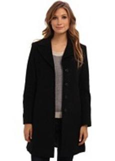 Larry Levine Classic Luxurious Wool Walking Coat