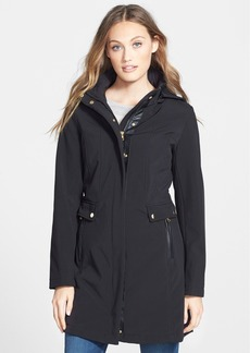 Larry Levine Soft Shell Hooded Jacket
