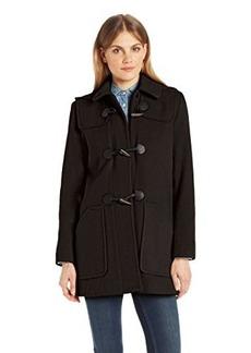 Larry Levine Womens Classic Toggle Duffle Coat